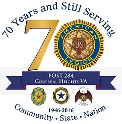Post284-70th Anniversary logo