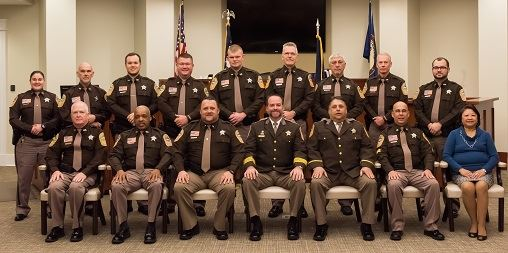 2016 Colonial Heights Sheriff Office Staff